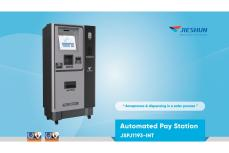 Parking System Automated Pay Station
